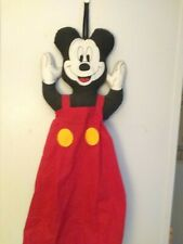 VINTAGE 90s DISNEY MICKEY MOUSE GROCERY BAG HOLDER/ DIAPER STACKER LARGE 3 FOOT!