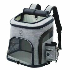 Dog Bag Breathable Dog Backpack Large Capacity Cat Carrying Bag Portable Outdoor