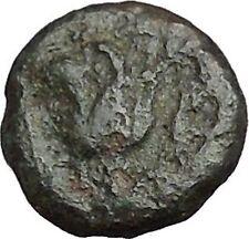 Rhodes Island Off Caria 394Bc Nymph Rhodos Rose Ancient Greek Coin i50215
