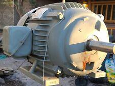 15 Hp Dayton Premium Efficiency Automotive duty 3 phase 460v Electric motor