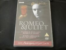 Romeo & Juliet SEALED NEW BBC SHAKESPEARE DVD 2005 PATRICK RYECART REBECCA SAIRE