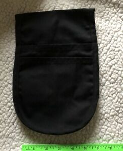 Uncommon Threads Utility Black Pouch With Pockets