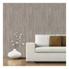 Devine Color Peel And Stick Wallpaper Textured Driftwood Pattern Grey  Very Good