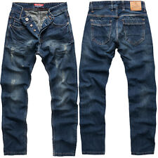 Rock Creek Herren Designer Jeans Hose Denim Stretch Jeanshose W29-W44 NEU M2