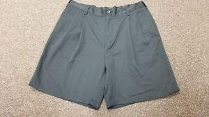 "Alexander Julian Colours Dress Shorts Black Pleated Front 36"" x 8"" Large Mens"