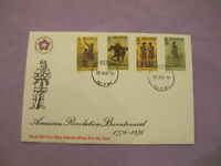 Isle of Man Stamps First Day Cover / FDC -1976 American Revolution Bicentennial