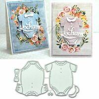 Baby Clothes Metal Cutting Dies Stencil Scrapbooking Photo Album Stamp Craft