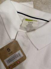 Boys Crazy 8 White Uniform Polo Size Small 5-6 Nwt