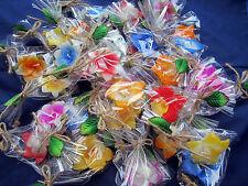 20xRandom Lot Wholesales Aromatic Spa Floating candle 5Cm Gift flower( Handmad)