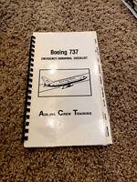 Boeing 737 Emergency Checklist & Posters