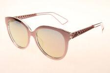 Christian Dior DIORAMA Pink Gold Pink Mirror Sunglasses