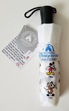 Shanghai DISNEY Mickey Through The Years Umbrella Sorcerer Steamboat WIllie NWT