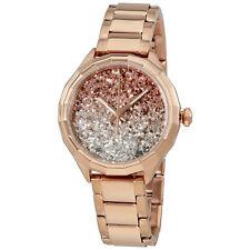 Diesel Kween B Glitter Dial Ladies Rose Gold-Tone Watch DZ5539