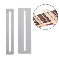 2pcs guitar bass fretboard bendable StainlessSteel fingerboard guard protect  ng