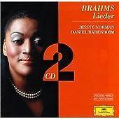 Brahms: Lieder, Jessye Norman Daniel Barenboim, Audio CD, New, FREE & FAST Deliv