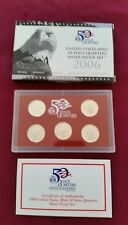 2006 US Silver Quarter Proof Set in Original Mint Packaging - FREE SHIPPING