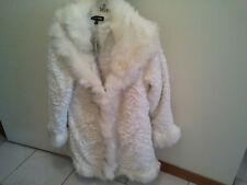 Caroline Morgan Fur Rose Designe Ladies Coat Size 10 New With Tag RRP $99