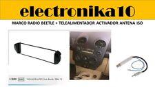 Marco montaje auto-radio volkswagen New Beetle + Adaptador antena phantom activa