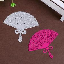 Fan Shaped Metal Cutting Dies Stencil Scrapbooking Paper Card Craft Embossing