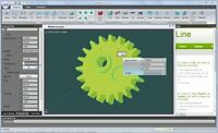 NaroCAD (Extensible 3D Parametric Modeling CAD Software) USB for Windows