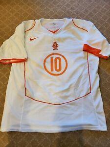 2004-06 Holland Netherlands Away Ruud Van Nistelrooy Jersey Size XL
