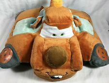 "DISNEY PIXAR Tow Mater Pillow Pets CARS Plush 12"" Pillow/Toy SOFT!"