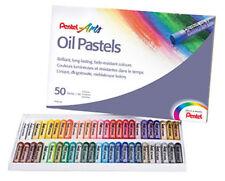 Pentel Artists Oil Pastels - 50 Set