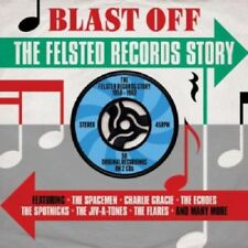 Blast Off-Felsted Records Story 58-62 2-CD NEW SEALED Spacemen/Spotniks/Echoes+