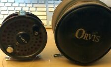 Orvis Battenkill 5/6 5wt 6wt Fly Fishing Reel w/5wt line and case - made in Engl