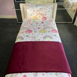 Premium Plush Velvet Bed Runner Throw Handmade Bedding Cover Sofa Home Decor