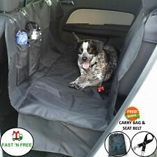 Dog Car Seat Cover for Cars/Trucks/Suv's. Waterproof Hammock Back Seat Cover