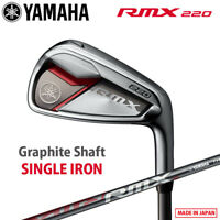 2020 Yamaha Golf Japan RMX 220 Single Iron (#5 / Aw / Sw) TMX-520i Graphite