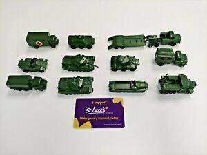 Lensey military vehicles set of 10