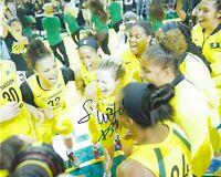 SAMI WHITCOMB Signed 8 x 10 Photo WNBA Basketball SEATTLE STORM Champions