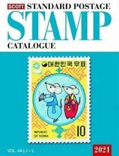 2021 SCOTT Standard Postage Stamp Catalog Vol 4a and 4b Countries J-l