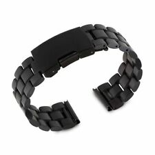 22mm Stainless Steel Watch Band For Martian Notifier,Fossil Q Founder, Vector