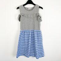 Gap Kids Girls Sleevless Deimn Blue Summer Spring Ruffle Dress Sz XXL (14-16)