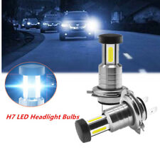 110W Car SUV H7 LED Headlight Lamp Bulbs 360° Lighting White Fog Light & DRL Set