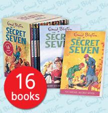 The Secret Seven Boxed Book Set Collection - 16 Books