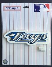 "Toronto Blue Jays Team Logo Plaque 9"" Inch Mlb Hanging Furniture New Sealed"