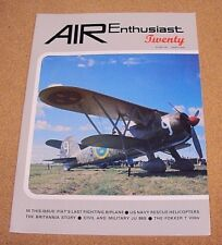 AIR Enthusiast Magazine #20 Fiat CR.42 Junkers Ju 86C Bristol Britannia Fokker