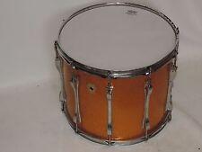 "Ludwig 15"" Gold Sparkle Tom Tenor Drum Monroe Abzeichen #2"