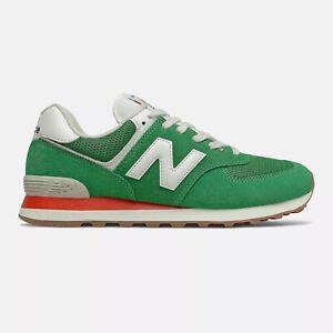 NEW BALANCE 574 Classic Scarpe Uomo Sneakers Suede Textile GREEN ML574HE2