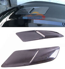 Real Carbon Fiber Front Hood Vents 1pair For 2015-2016 Mustang GT