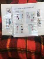 CLOTH ART DOLL (PAPER) PATTERNs & Detailed Instructions BY MARY TRESSLER