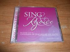 Sing And Rejoice Live At Cathedral of Our Lady of The Angels (Music CD 2009) NEW
