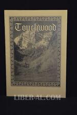 Touchwood Volume 8 Number 31 (Autumn Equinox 1996)