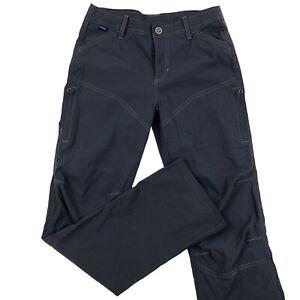 "Kuhl Boys Medium (10-12) Gray Renegade Hiking Articulated Knee 26"" Inseam Pants"