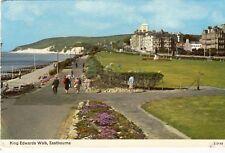 Postcard -  King Edwards Walk, Eastbourne   ( Ref B4)