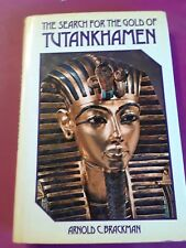 The Search for the Gold of Tutankhamen by Arnold C. Brackman (1976, Hardcover)